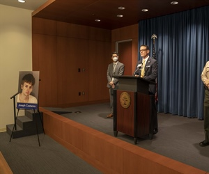 DA Hestrin announces murder charge filed against alleged drug dealer who sold fentanyl-laced drugs to victim